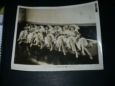 STAND UP AND CHEER!, orig 8x10 [7 starlets / early Lucille Ball title] - 1934