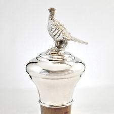 Silver Pheasant Bottle Stopper