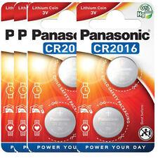 8 x Panasonic CR 2016 3V - 4 x 2er Blister Batterie Lithium Knopfzelle 90mAh