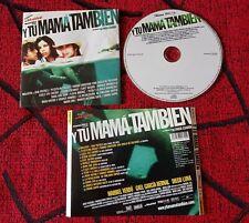 Y Tu Mama Tambien *Soundtrack Spain Cd Molotov Frank Zappa Brian Eno Cafe Tacuba