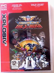 66556 - Freedom Force Vs The 3rd Reich [NEW / SEALED] - PC (2005) Windows XP
