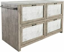 Classic Home Furniture Henry Kitchen Concrete Top Kitchen Island Dining