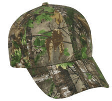2e7b4a95b6bf8 REALTREE Camo Pattern OPTIONS Blank Undecorated Hunting Hats Adjustable