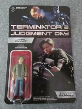Terminator 2 John Connor Action Figure Funko ReAction Unpunched Card Eddie Retro