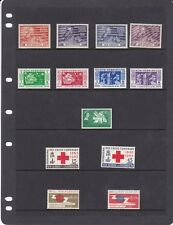 CJL18) New Hebrides (British ), mint unhinged collection on Hagners 1949