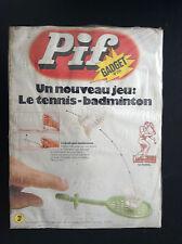 Revue Pif  gadget N° 254  SOUS cello AVEC Gadget JAMAIS OUVERT
