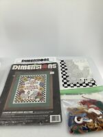 Dimensions Counted Cross Stitch Kit Country Sunflower Welcome Rooster Open #3140