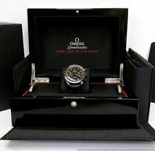Omega 9300 Dark Side of the Moon Mint Used Mens Wrist Watch w Box