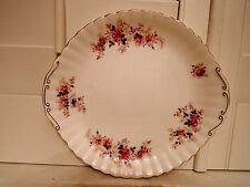 Vintage Royal Albert Lavender Rose Handled Cake Plate/Platter Bone China