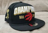 New Era - Toronto Raptors 2019 NBA Champions Snapback Hat - Brand New One Size