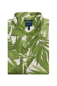 GANT Regular Fit Short Sleeve Palm Breeze Print Shirt