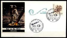 Apollo 13. Mondflug 13.4.1970, Astrophilatelie. SoSt, Frankfurt. BRD 1970
