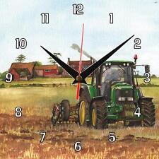 No.332 John Deere 6920 tractor Sue Podbery Wall clock handmade gift present