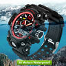 Sanda Mens Dual Display Shock Proof Digital LED Sports Quartz Wrist Watch