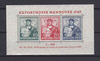 GERMANY 1949, Mi#1a, US&British Zone, CV €100, MNH
