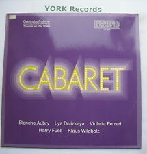CABARET - German Cast Recording - Excellent Condition LP Record Preiser SPR 3220