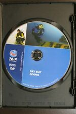 Dry Suit Dividing Dvd ~ Padi, # 70856 ~ The Way the World Learns to Dive!