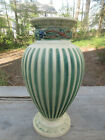 LARGE Roseville Corinthian Vase 220-12 White/Beige Unmarked Original