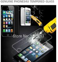 100% Genuine Tempered Glass Film Screen Protector for Apple iPhone Model 5S/5C/5