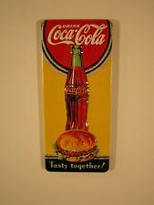 "Coca Cola Embossed ""Tasty Together"" Magnet by Ande Rooney"