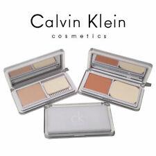 New Genuine Calvin Klein Whitening Treatment 2Way Powder Foundation Medium Ocher