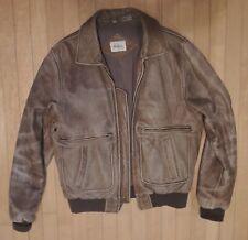 849b4848c leather bomber jacket 40 | eBay