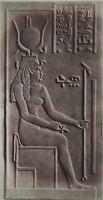 Egitto Isis Geroglifici Foto Albumina IN Piccolo Formato 7,5x14cm Ca 1880