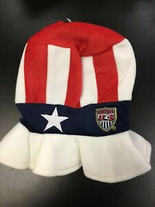 MLS US Soccer Bucket Hat USA Star Flag Cap Olympics National Team World Cup New