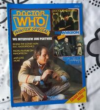 DOCTOR WHO - Winter Special  1982 UK MAGAZINE