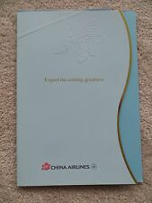 China Airlines Boeing 747-400 Brochure Folder =