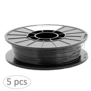 [3DMakerWorld] taulman3D T-Glase 3D Printer Filament - 1.75mm, 1lb, Black [5 pk)