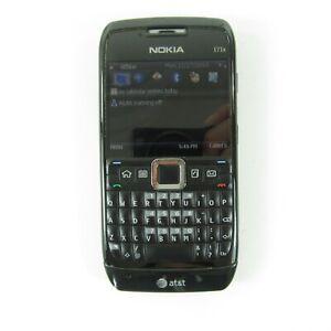 Nokia E Series E71x - Black (AT&T) Smartphone
