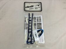deBeer Women's Gripper Pro Stringing Kit Navy Blue & White New (Lax132) Ihh