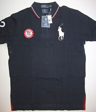 NWT Polo Ralph Lauren Men US Olympic Team USA London Big Pony Logo Shirt Small