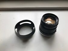 Summicron F/2 50mm Black Great Condition With Hood
