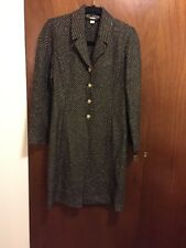 Beautiful St. John Couture By Marie Gray Long Jacket Coat Size: 4
