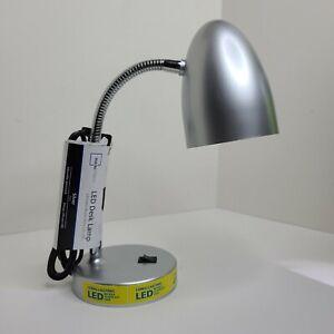 Mainstays LED Desk Lamp - Silver
