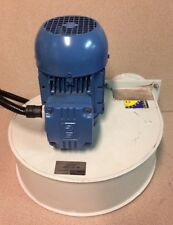 Sodeca Centrifugal Blower CMP-620-2T/SMIT  .37 KW Motor, 3288RPM. Single inlet,
