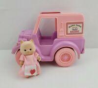 Vintage1986 Mapletown Bakery Truck And Cat Baker