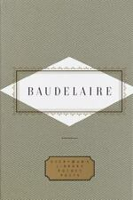 Everyman's Library Pocket Poets: Baudelaire by Charles Baudelaire (1993, Hardcov