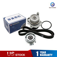 w/ Impeller Timing Belt Water Pump Kit for 99-05 VW Golf Jetta Beetle 2.0L L4