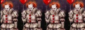 "1"" 2YDS IT Grosgrain Ribbon Crafts Lanyards Stephen King Movie Clown Halloween"