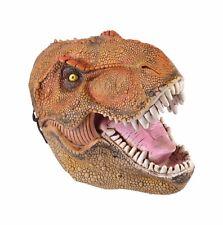 Máscara Adulto De Pvc De Dinosaurio pre histórico Fancy Dress reptil Scary Halloween