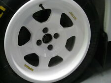 DYMAG WHEEL DECALS, YELLOW STICKERS,  METRO 6R4, RALLY, GROUP B, COMPUTERVISION