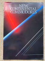 1984 Holden Commodore original New Zealand sales brochure