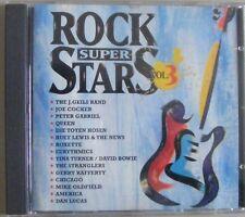 ROCK SUPER STARS Vol. III - VA J. Geils Band Joe Cocker Peter Gabriel Roxette