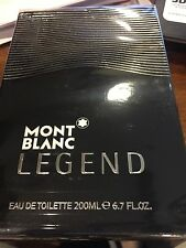 MONT BLANC LEGEND POUR HOMME 6.7 FL oz /  200 ML EDT Spray Sealed Box