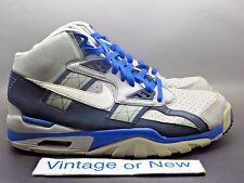 Nike Air Trainer SC High Medium Grey White Obsidian Game Royal 2012 sz 8