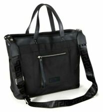 VERSACE Parfums Men's Black Holdall Weekender Overnight Bag - New With Dust Bag