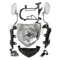 Motorcycle Headlight Set Head Light Assembly For Yamaha FZ1N 2006-2009 07 08 09